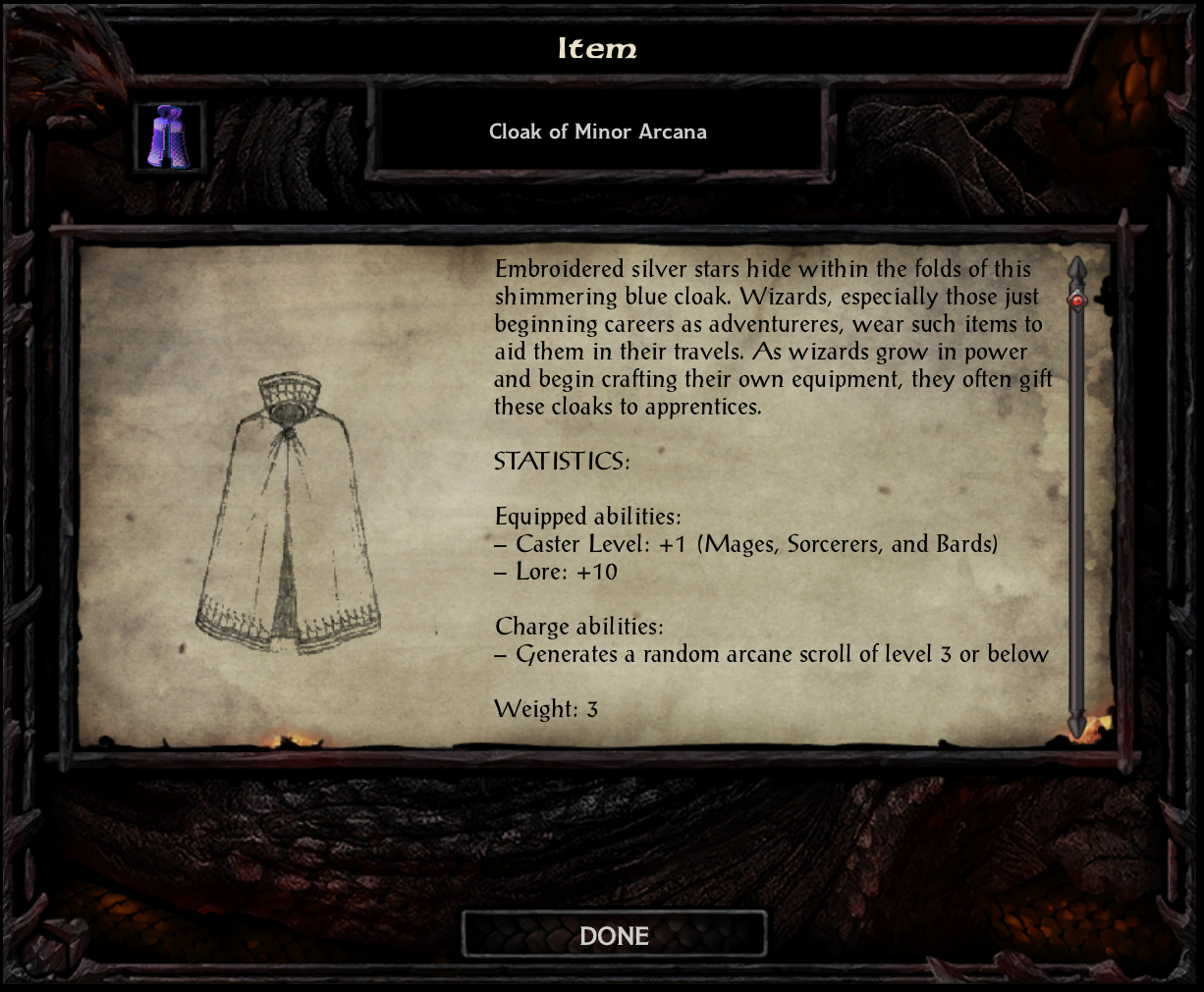 Cloak of Minor Arcana