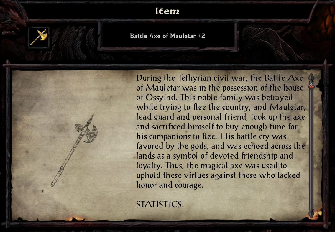Battle Axe of Mauletar +2