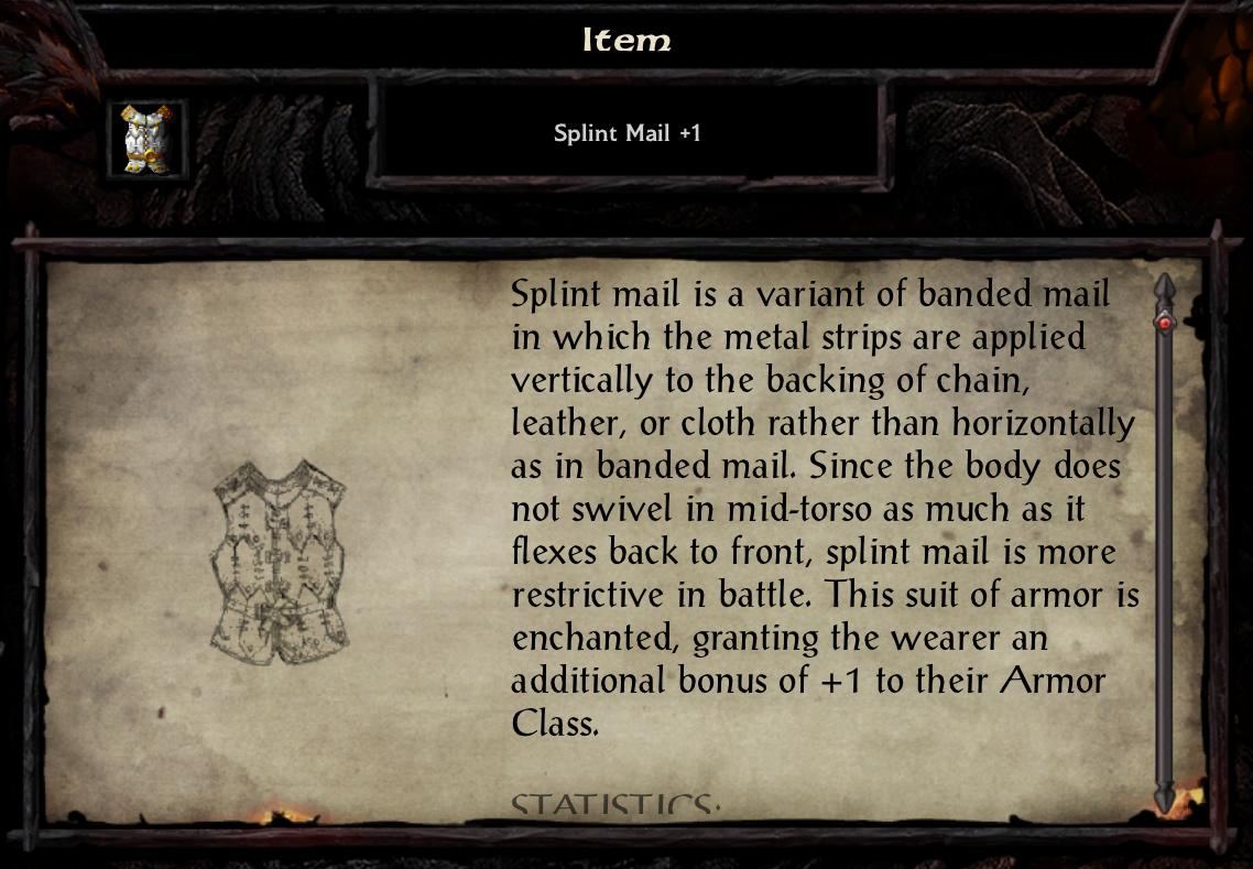 Splint Mail +1