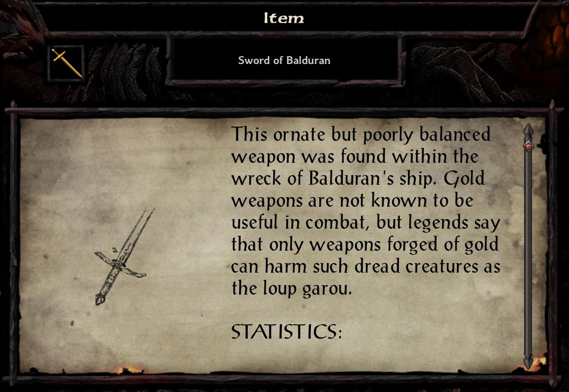 Sword of Balduran