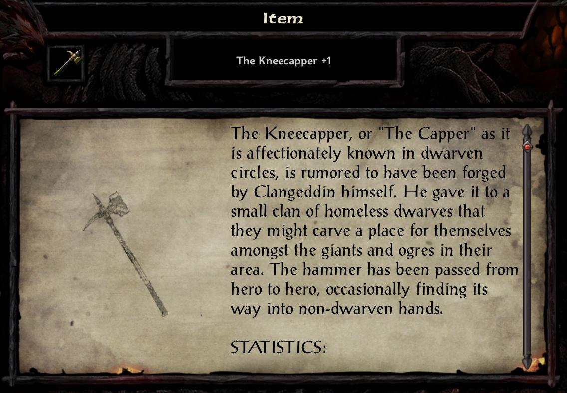 The Kneecapper +1
