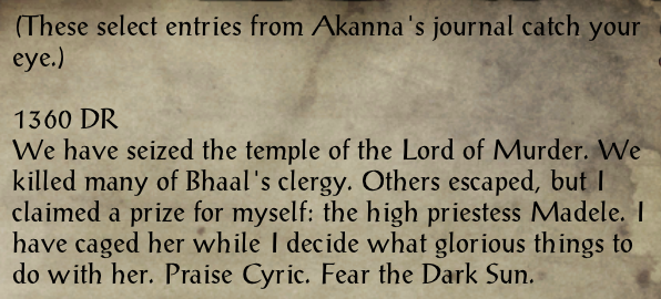 akanna's journal