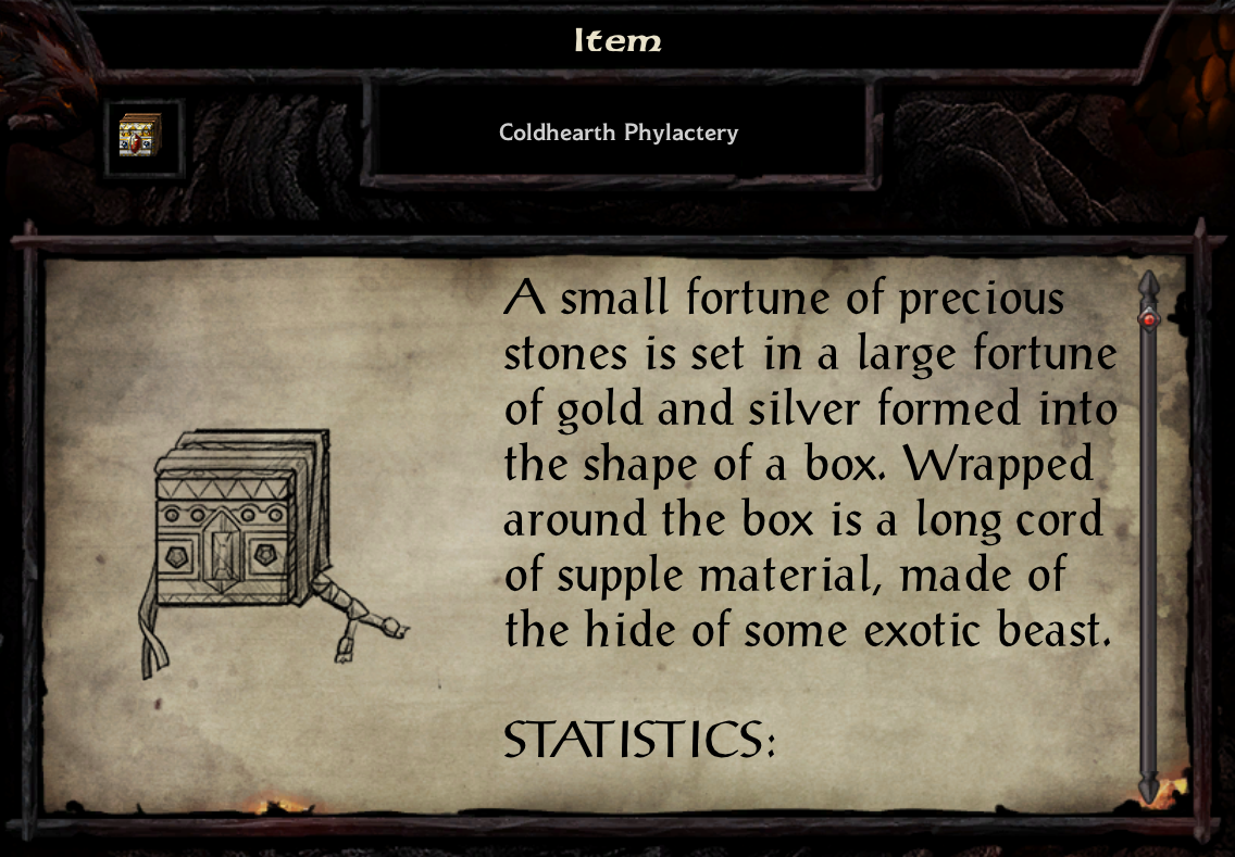Coldhearth Phylactery