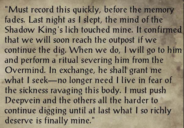 Journal of Gurn Coldhearth 2
