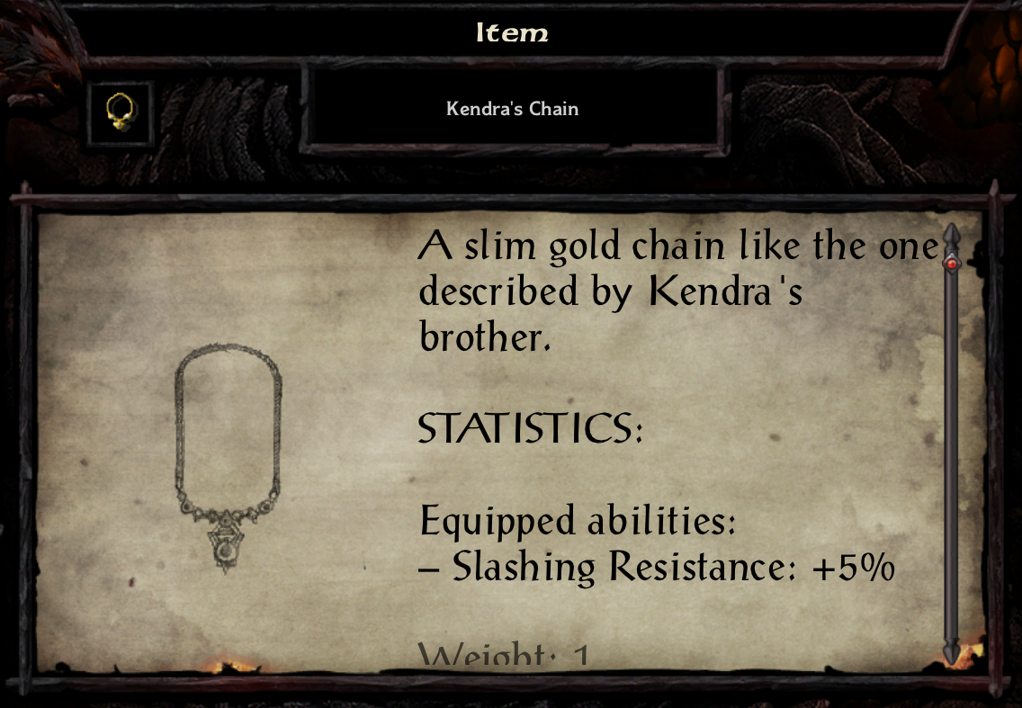 Kendra's Chain