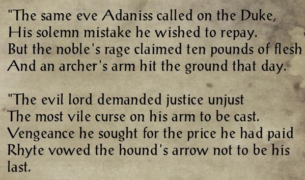 Rhyte's Last Arrow +2.3