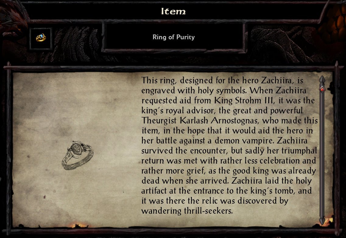 Ring of Purity