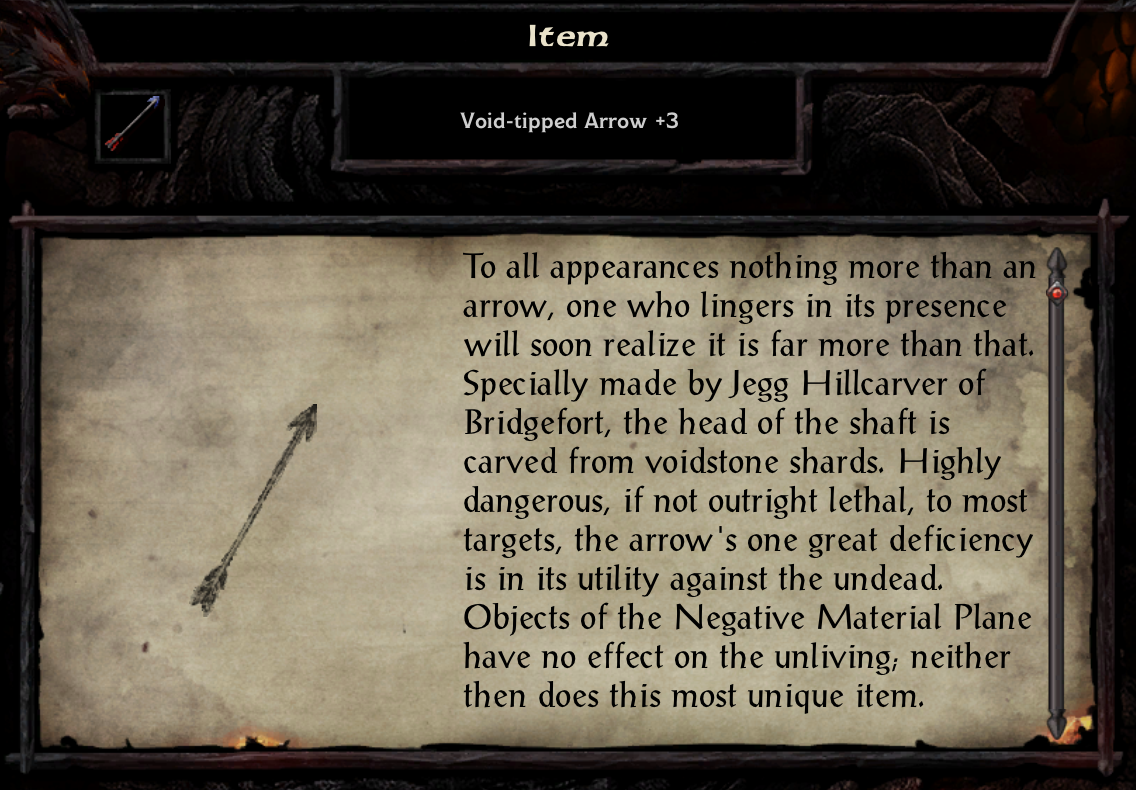 Void-Tipped Arrow +3