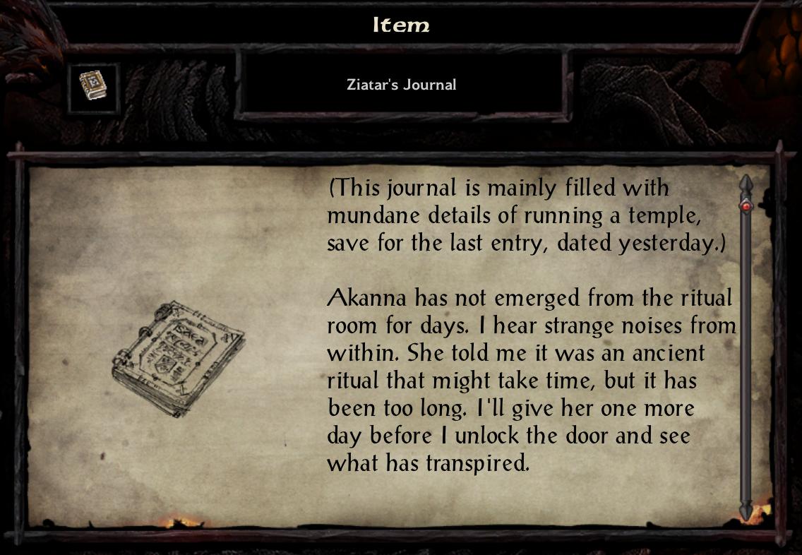 Ziatar's Journal